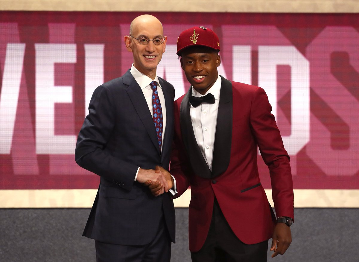 Collin Sexton says he will wear No. 2 with the Cavs , per @CavsFredMcLeod <br>http://pic.twitter.com/JZXox8RIDR