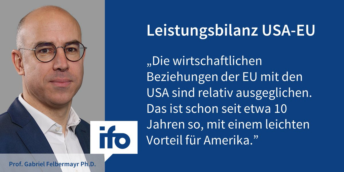 Leistungsbilanz: USA erneut mit Überschuss gegenüber der EU https://t.co/iWFeW2nsXP
