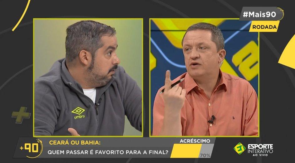 Quem passar nesse confronto entre Ceará e Bahia será o grande favorito para o título da Copa do Nordeste? Manda pra gente sua opinião na #Mais90!