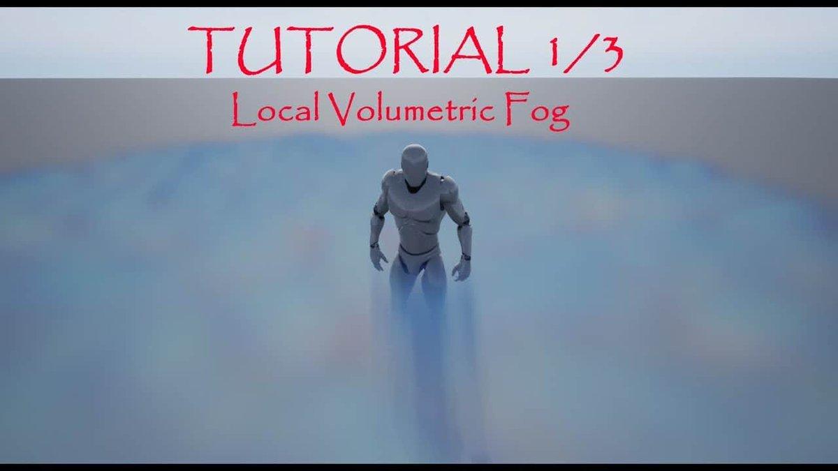 Local Volumetric Fog - UE4でローカルボリューメトリックフォグを作るチュートリアル動画第1回が公開! #3dnchu #UE4Study #UE4