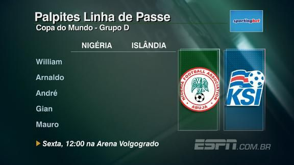 Nigéria x Islândia: veja palpites do Linha de Passe https://t.co/VpbnUDk29q  #ESPNnaRussia