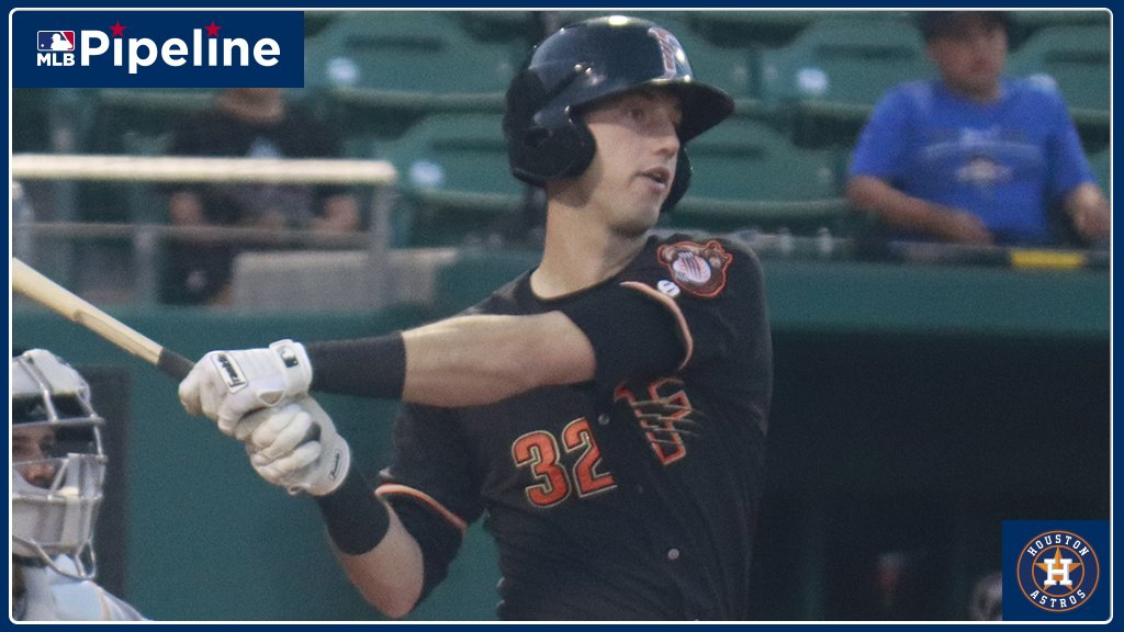 #Astros No. 1 prospect Kyle Tucker hit his 10th homer of the season and is 3-for-4 with two RBIs for @FresnoGrizzlies. Heres how @Astros prospects have performed tonight: atmlb.com/2ttgqWh
