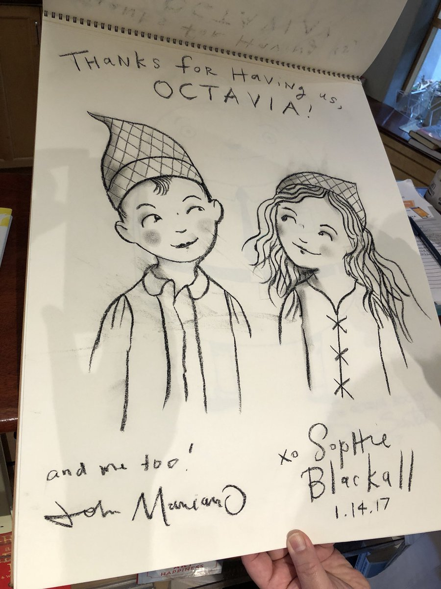 test Twitter Media - Great first day @alaannual including a visit @octaviabooks where we enjoyed illustrations from great illustrators including Caldecott Medalists @SophieBlackall @dsantat  Always honored to be a part of this beautiful community. https://t.co/Hh6j2YFmmQ