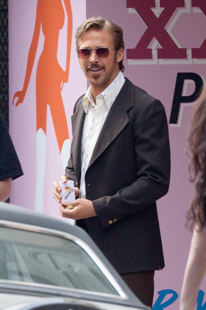 📸 Ryan Gosling I The Nice Guys Set (2015)