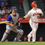 Image for the Tweet beginning: Luis Valbuena, Kole Calhoun combine