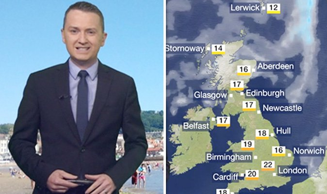 #BBC #UKWeather #forecast Britain to be HOTTER than Spain as temperatures RISE next week https://t.co/eqEDZ8obp3