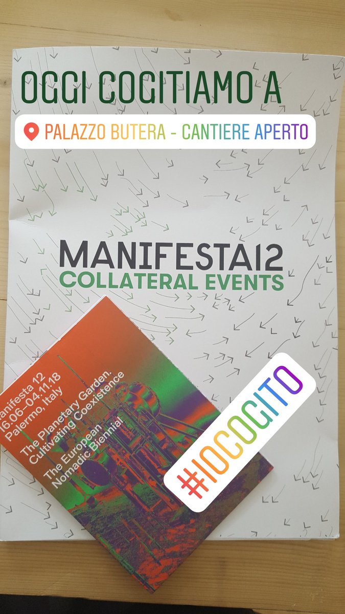 Oggi a #PalazzoButera per parlare di arte, bellezza e Palermo con Massimo Valsecchi @ManifestaDotOrg #m12collateral #iocogito #palermocapitalecultura @PACultura2018  - Ukustom