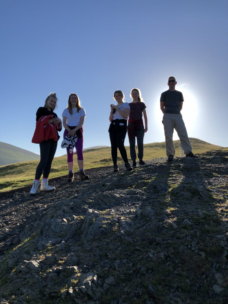 Early morning hike up Latrigg @BlencathraFSC #nofilter #albumcover #geographyonthemove <br>http://pic.twitter.com/a8B6Qd6BPn
