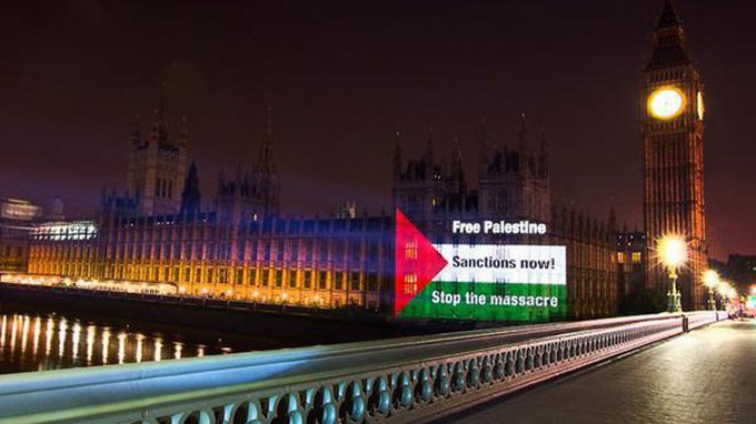Instead of sending a royal family member to Israel, the UK government should end arms trade with Israel, ban all trade with Israel's illegal settlements and make amends for decades of official British complicity in Israel's crimes against Palestinians. Photo