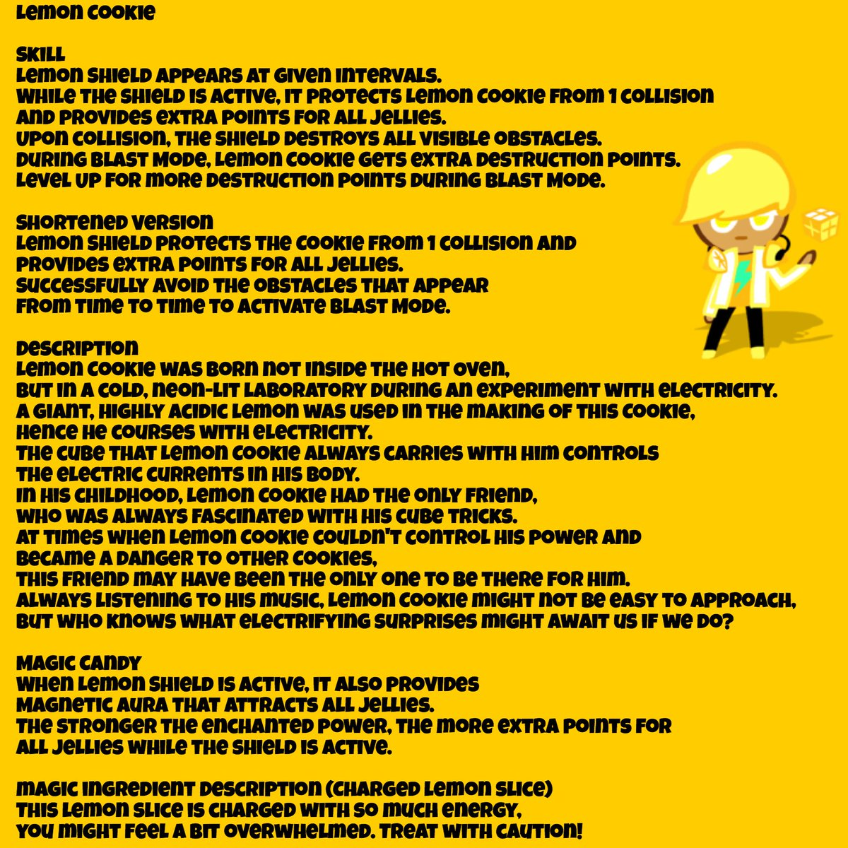 (Ovenbreak) All the information on Lemon Cookie and Electro Lemon!   Thanks @peppermintsodaa for sharing! <br>http://pic.twitter.com/bURtyZxHTD