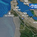 Image for the Tweet beginning: Limited fog tonight along our