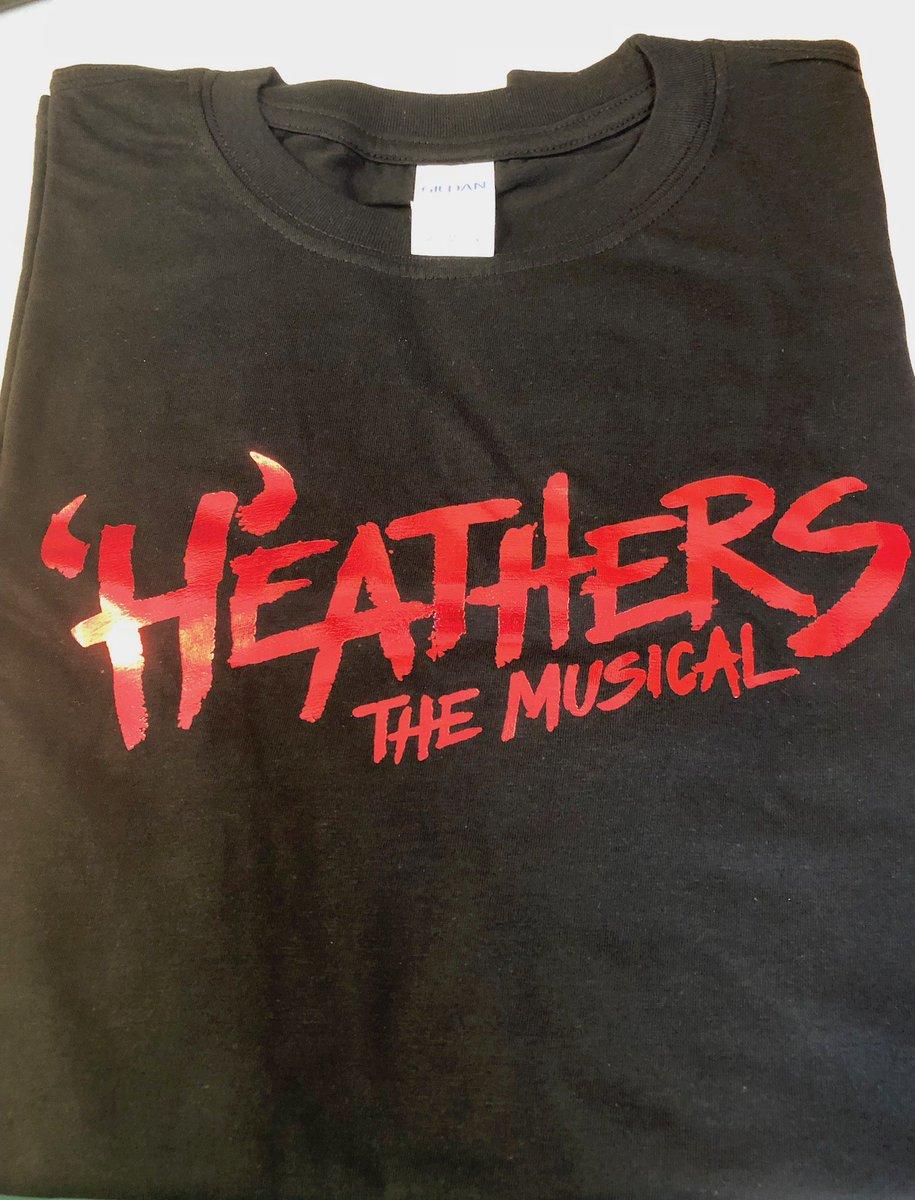 RT &amp; FOLLOW for a chance to win a Heathers t-shirtfridayfangirlfrenzy  https:// bit.ly/2KeUNU4  &nbsp;   . . . #win #Heathers #London #WestEnd #FridayFun #FridayFeeling<br>http://pic.twitter.com/R6Lqcjz2er