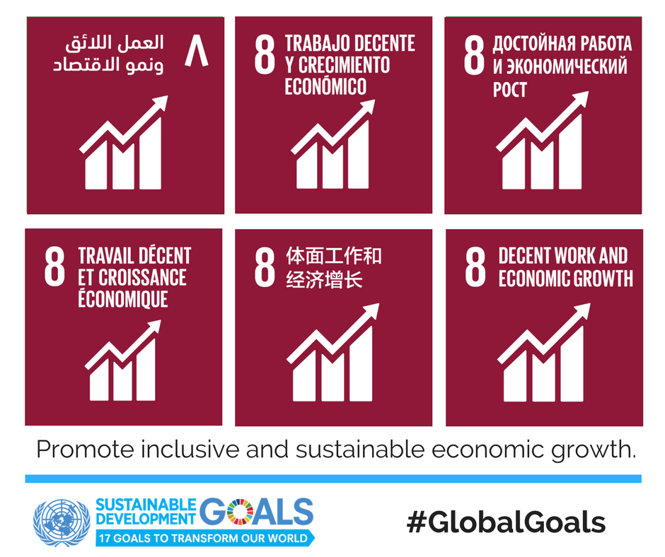 Nearly 2.2 billion people live below the US$2 poverty line and that poverty eradication is only possible through stable and well-paid jobs.  https://t.co/w1TQvAXEbl #GlobalGoals #SDG8