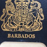 Image for the Tweet beginning: This is the passport my