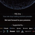 Meet FBG One, Your one stop trading solutions provider.  Huge thanks to our partners: @OfficialBlock72 @binance @Huobi_Pro @MHCGBIC @gbicofficial @Blockchain_Data @Okcoinkr @aelfblockchain @LibraCredit @zilliqa @helloiconworld @CTXCBlockchain @hashed_official @alphabitltd