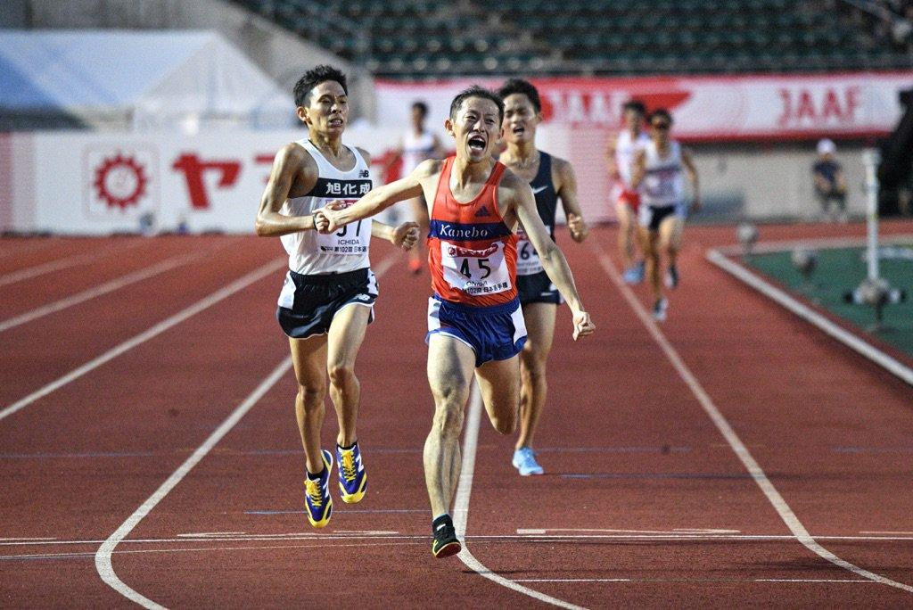 日本選手権 #10000m 🥈大西一輝(...