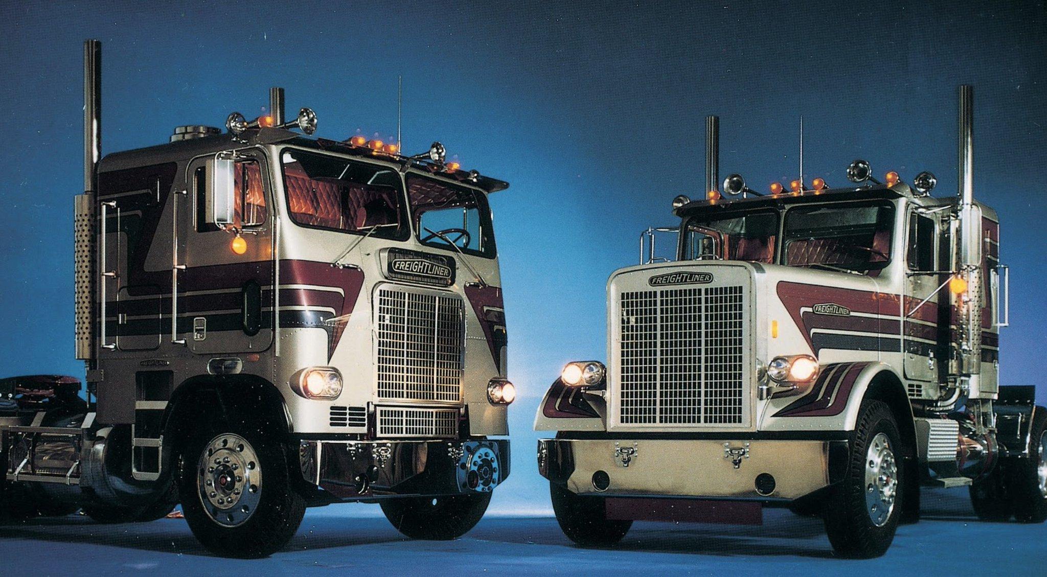"Freightliner Trucks on Twitter: ""Cabover or long nose ..."
