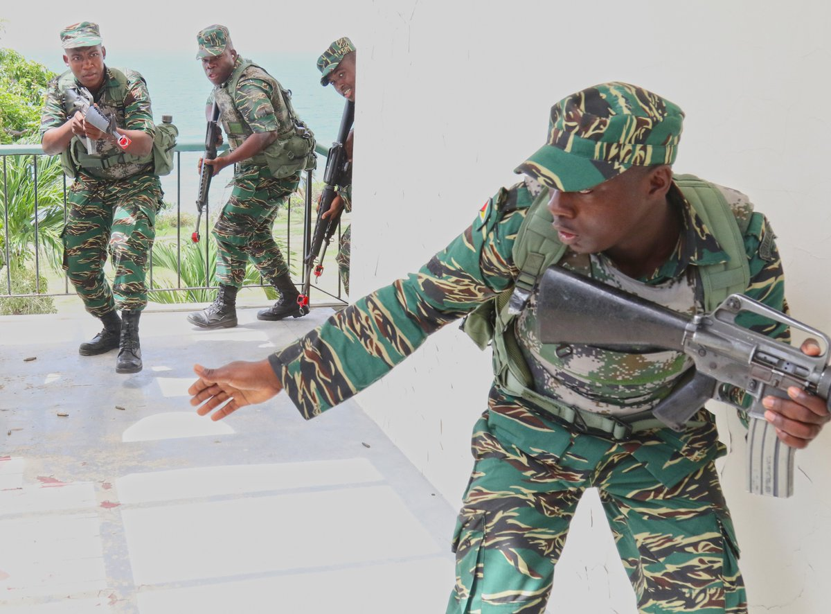 Us dept of defense deptofdefense twitter the exercise focused on caribbean security included training w forces from the us 21 nations in st kitts nevis the bahamas fandeluxe Gallery