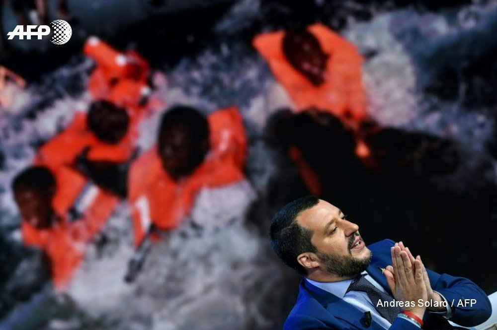 Italy doubles down on its new tough stance against migrants, calling for a German NGO's rescue boat to be impounded and its crew arrested as the EU prepares for a tense weekend mini-summit on the issue https://t.co/Hkz75yaro4