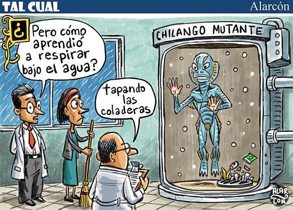 Chilango mutante - Alarcón