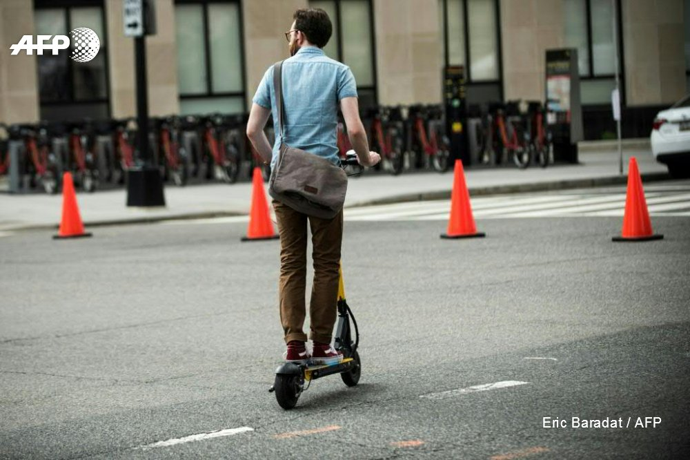 How fast is the electric scooter-sharingcraze growing? Fast enough to be declared a nuisance and kicked off the streets of San Francisco and a handful of other cities https://t.co/Yp0FWkXn77