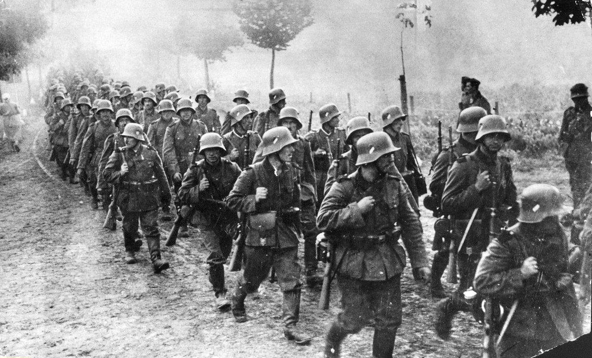 #Comprendre ⚔ Le 1er septembre 1939, l'Allemagne nazie envahissait la Pologne marquant le début de la Seconde Guerre mondiale. Jusqu'en 1944, presque toute l'Europe était sous le contrôle d'Hitler. #Dossier #Histoire ▼ https://t.co/oNoaWcH2dc