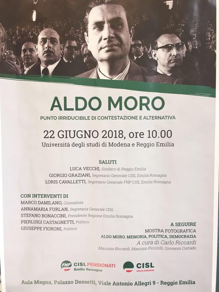 Oggi, #22giugno, sono a Reggio Emilia insieme alle amiche ed agli amici della @FnpCisl, della Fnp Cisl Emilia Romagna e della @Cisl_ER per ricordare l'attualità del pensiero di #AldoMoro a quaranta anni dal suo assassinio  - Ukustom