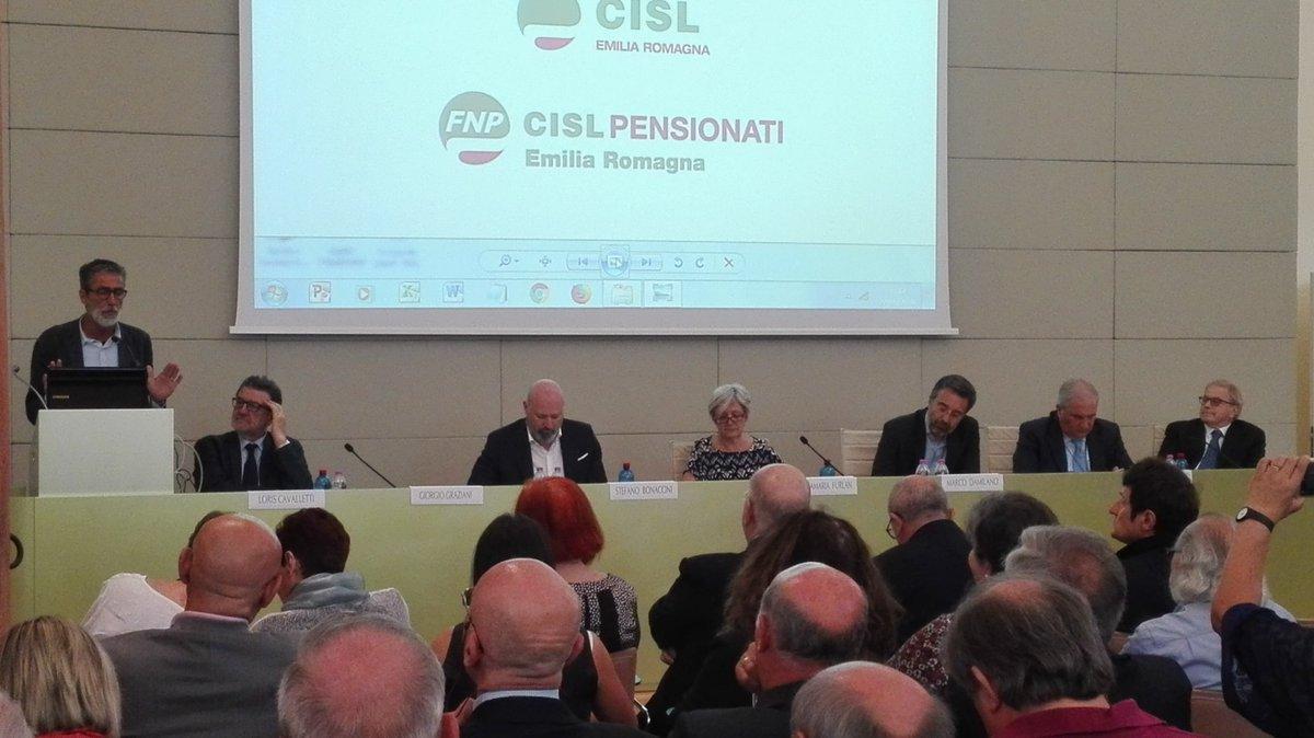Oggi #22Giugno a Reggio Emilia @CislNazionale, @fnpcisler e @Damilanofanpage insieme per ricordare la grandezza dell\