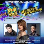MOR MusicFest Barangayan Twitter Photo