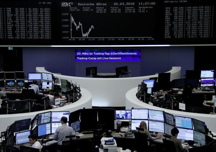 European shares set for worst week in three months as trade worries bite https://t.co/Ngqua3gsOK https://t.co/YH6TgvvYTp