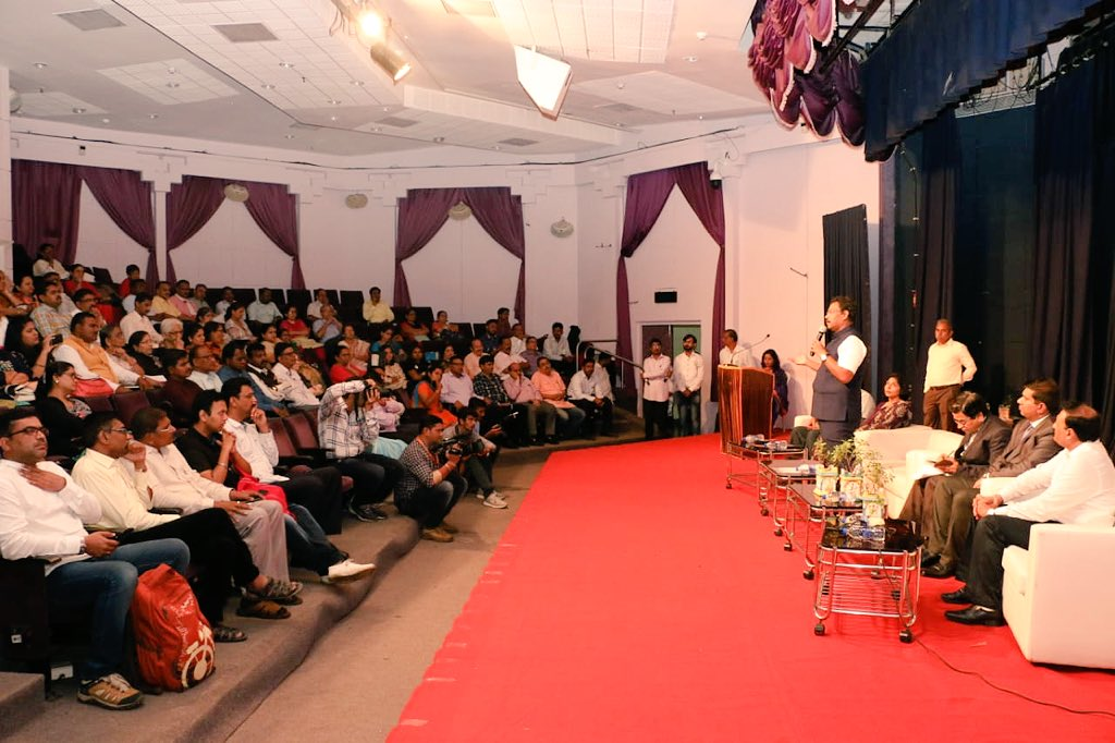 Contributing our best efforts for the greater good of the society is the core of humanity. Addressing the training forum for CSR activities, emphasised that it is essential to ensure that benefit of such efforts should reach the needy, enriching and improving their lives.