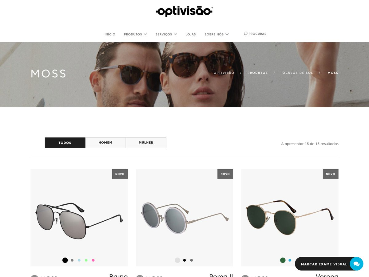 6c3b7f77b681 ... Optivisão now using our virtual try-on solutions for their exclusive  MOSS eyewear collection  virtual  tryon  eyewear  2D  3D  optical   AugmentedReality ...