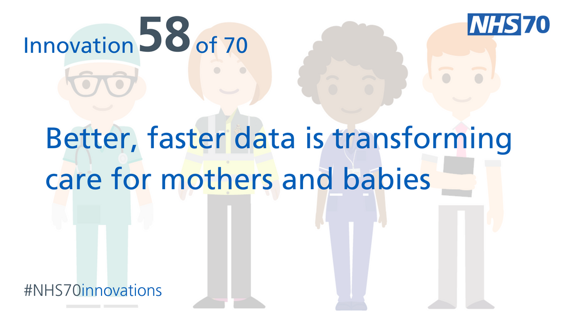 We believe #data about the care women receive from the start of pregnancy 🤰 to delivery can help support #betterbirths. 👶  See why in today's #NHS70innovations case study: https://t.co/zsQMRxYJvg   #NHS70 #AHSNs https://t.co/JLmCZeF1V4