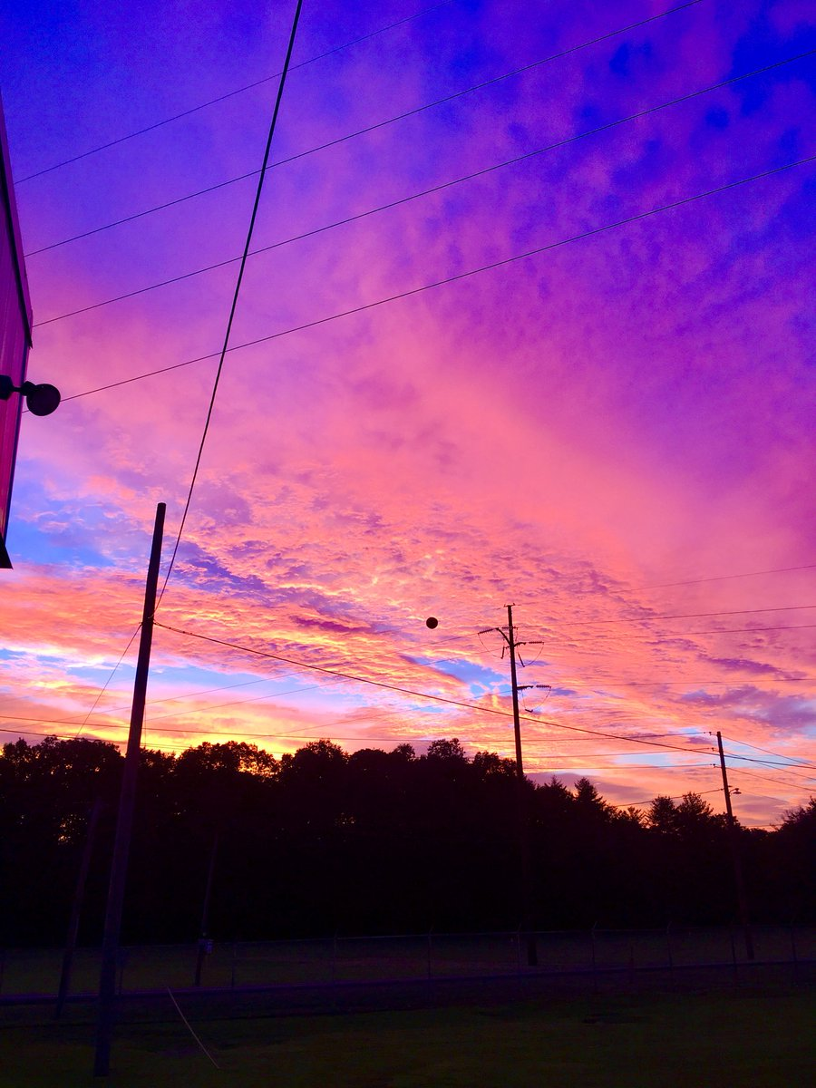 Real men take pictures of sunrises