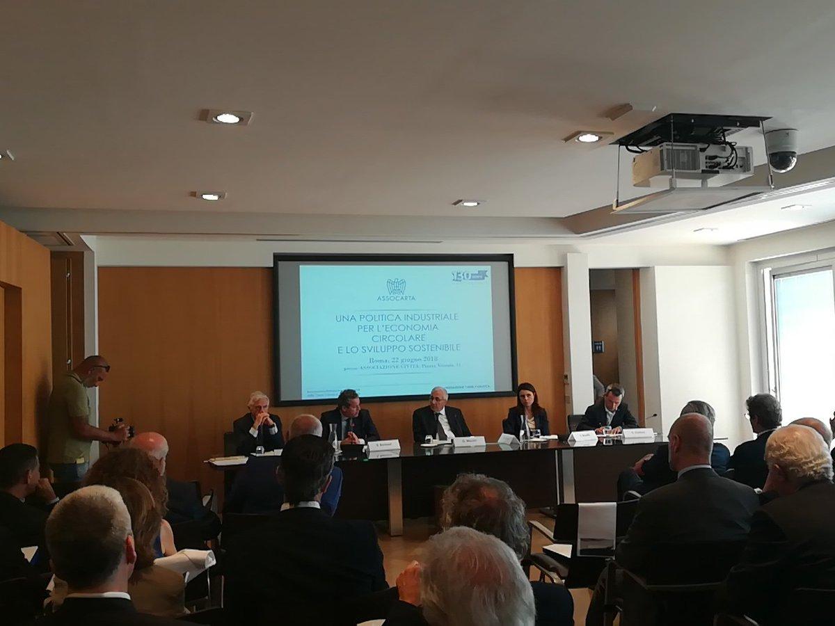 """Girolamo Marchi @ASSOCARTA """"Dobbiamo promuovere definizione #sottoprodotto che consenta di recuperare il più possibile. È un problema di #legislazione e di applicazione delle leggi. C\"""