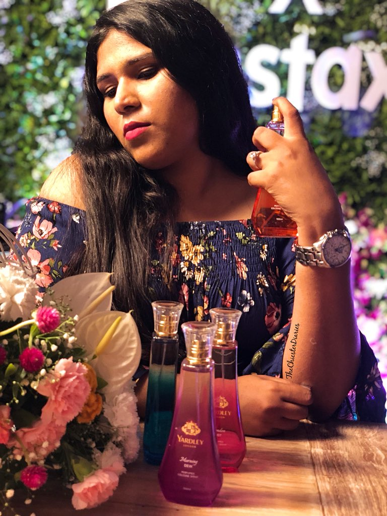 @MyYardley just launched their #yardley2018collection &amp; this collection is a perfect mix of Fruity, Floral &amp; Oriental fragrances.  Best of all these fragrances are priced at just Rs. 499/- a pop making it an ideal and affordable accessory for everyday use.  . #fblogger #fbloggers <br>http://pic.twitter.com/dCy3RiYGj8 &ndash; à The Sassy Spoon