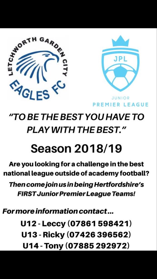 Letchworth GC Eagles on Twitter: