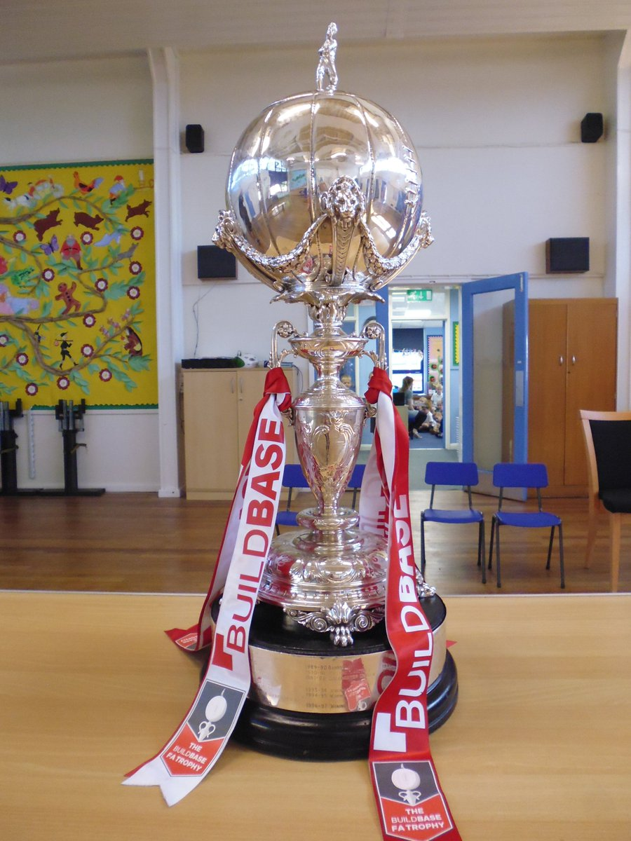 BTFC have today brought us the FA Trophy!! Class photo's on our web site.