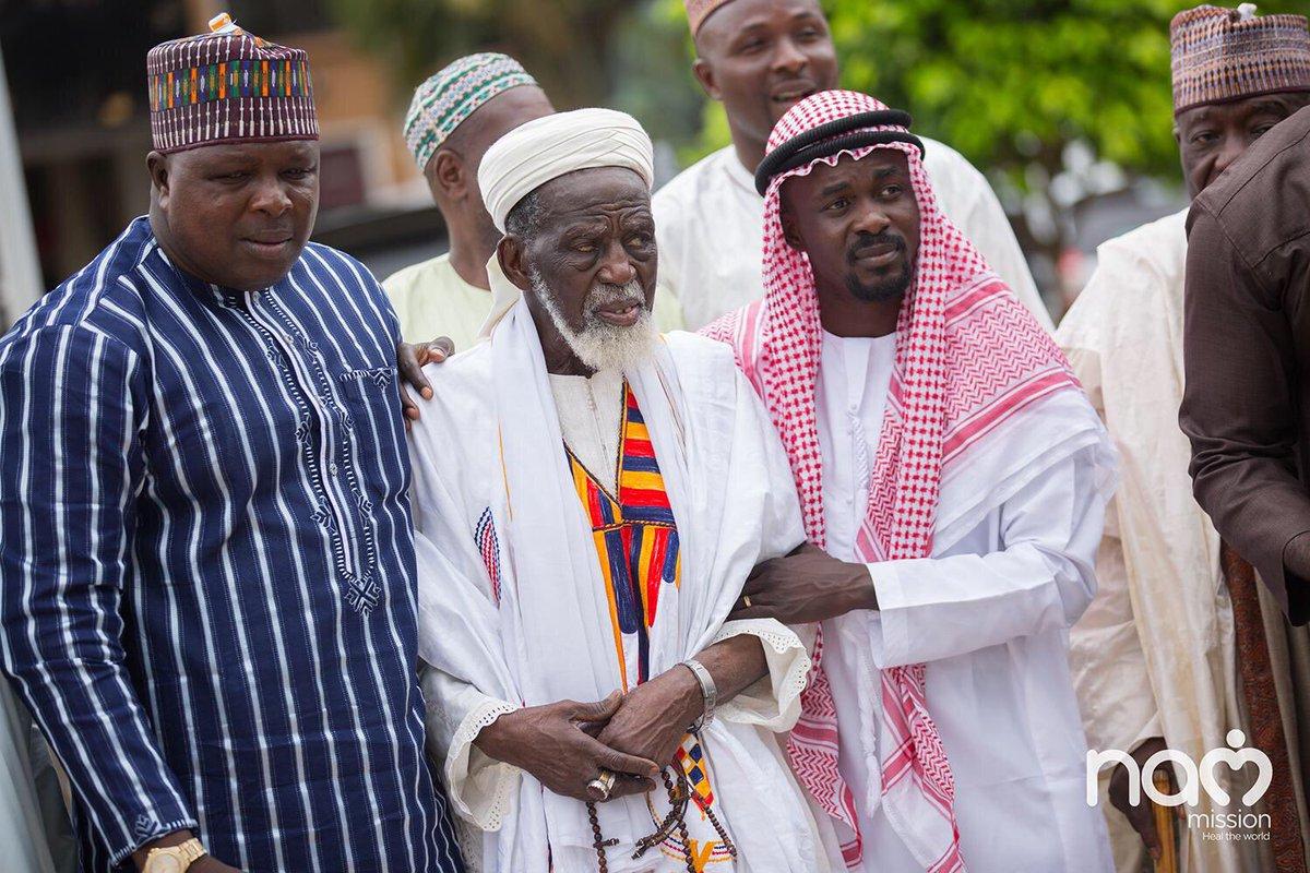 Zylofon's Nana Appiah Mensah Gives GHC1million For Chief Imam Educational Fund<br>http://pic.twitter.com/LEDcit8Z4o