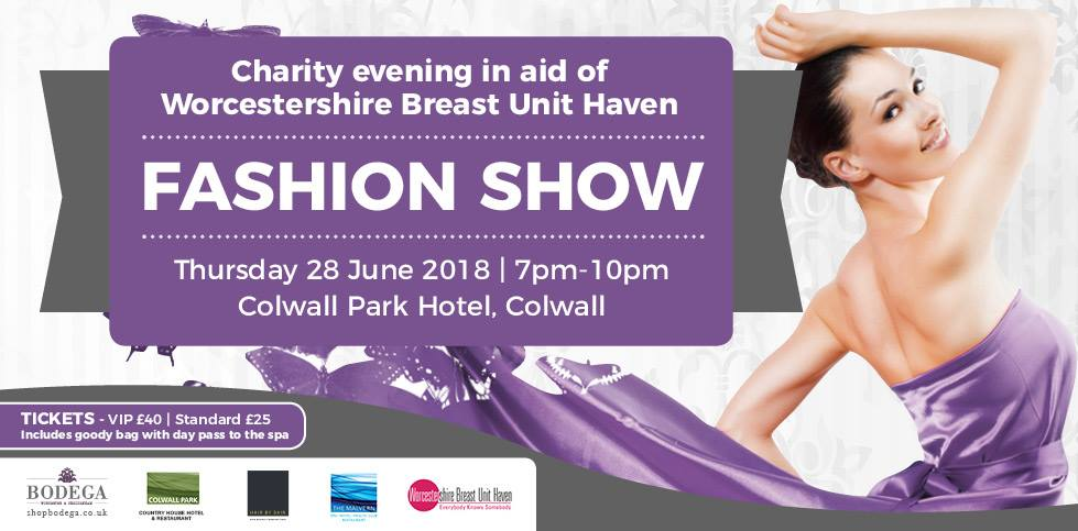 Still a few tickets available for @themalvernspa Fashion Show next Thursday eve! Every ticket gets a free pass in the good bag! Call 01684 898281 to buy yours today. #fashionshow #charity #everybodyknowssomebody