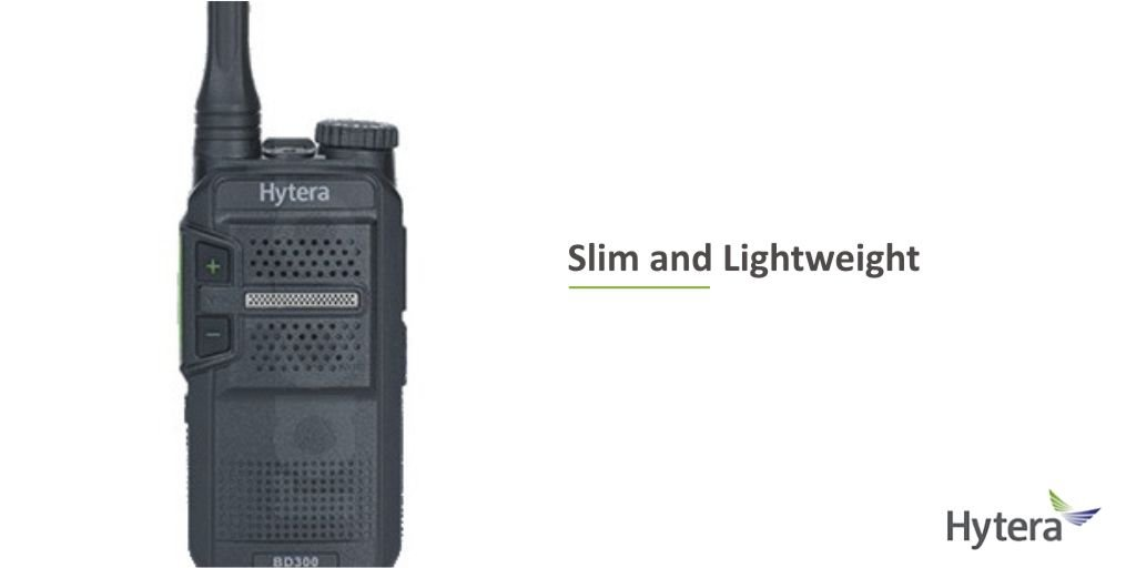 #446Friday - The @Hytera_UK  BD305LF #twowayradio weighs just 140g & is easily held, clipped or put in your pocket, making it the ideal companion for communicating. Discover more here https://t.co/QU3KzJDOC1  #digitalpmr446 #hospitality #godigital @HTAnews  #heretosupportyou