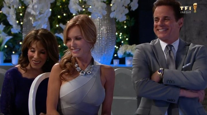 Michael and Lauren at the romantic wedding of Devon and Hilary❤️GREAT Scenes. @CJLeBlanc @Traceybregman #Lesfeuxdelamour #YR #youngandtherestless