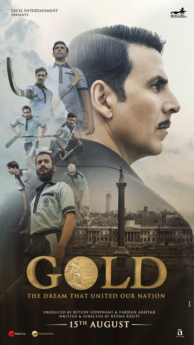 One generation dreamt it, the other achieved it. #GoldTrailer out on 25th June at 10 am.   GOLD TRAILER IN 3DAYS