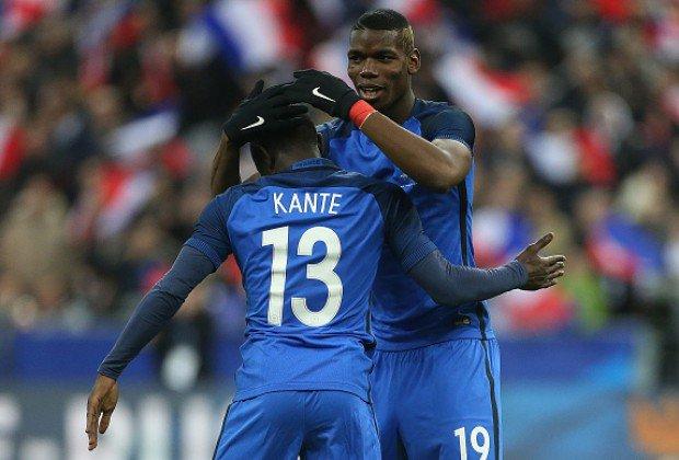 Kante 'has 15 lungs' says French teammate Pogba. @nbstv #NilePostNews Photo