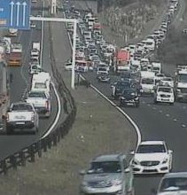 #KZNTraffic Accident: N2 northbound after EB Cloete I/C, right lane blocked. Please approach with caution. Photo