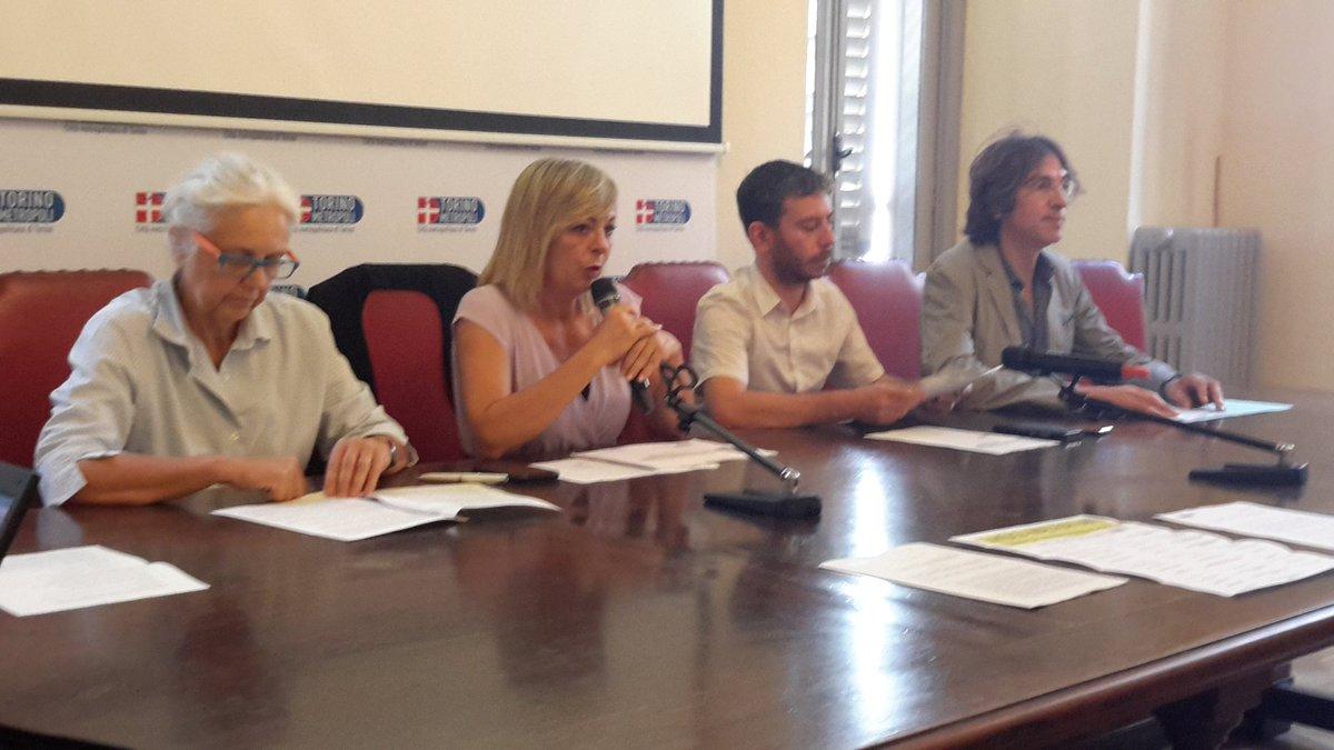 #22Giugno #Torino A #PalazzoCisterna firma #protocollo dedicato a #sensibilizzazione contro #violenza sulle #donne  rivolto a #maltrattanti La consigliera di @CittaMetroTO @CossuSilvia delegata a #parita illustra l\