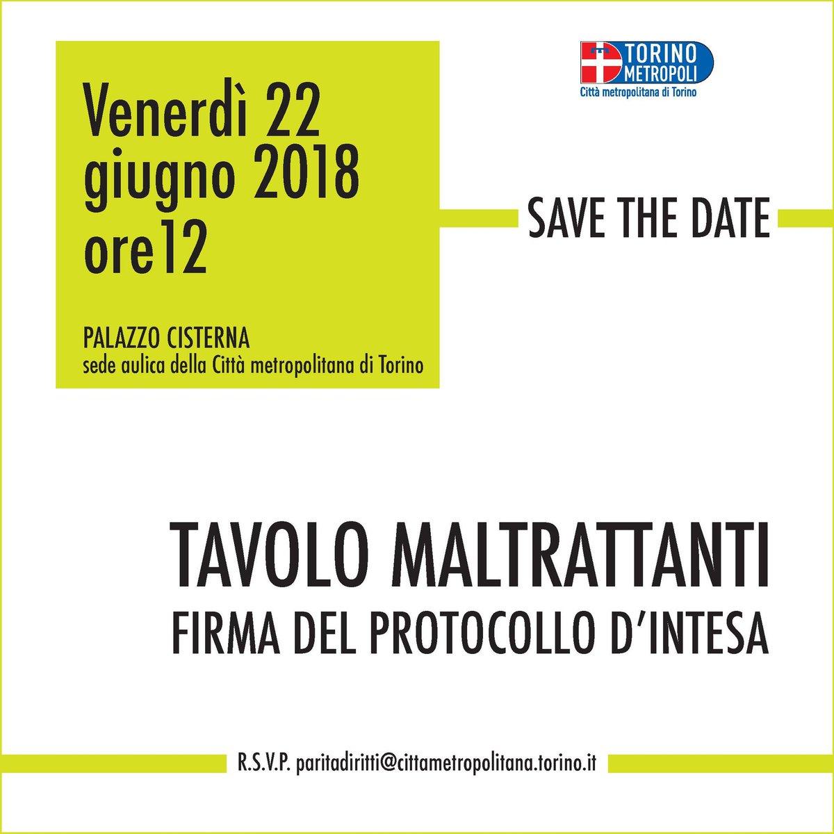 #22Giugno #Torino sede di @CittaMetroTO si firma #protocollo tavolo rivolto a #maltrattanti contro #violenza sulle #donne @CossuSilvia @twitorino @crpiemonte #consultafemminile #associazioni #Comuni  - Ukustom