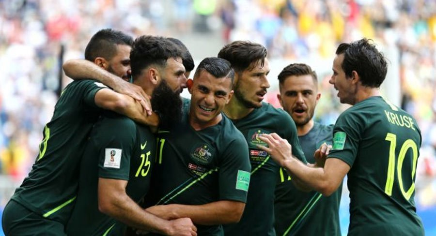 #AUSvDEN #WorldCup match has become the 13th highest ranked FTA program nationally in 2018 year to date #tvratings #austv #ausmedia https://t.co/o2f587DfV3