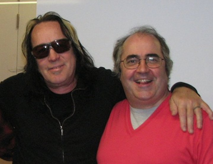 I share my birthday today with, among many stellar others, Todd Rundgren. I couldnt be more proud of that. Strangely,he never seems to find it that remarkable.