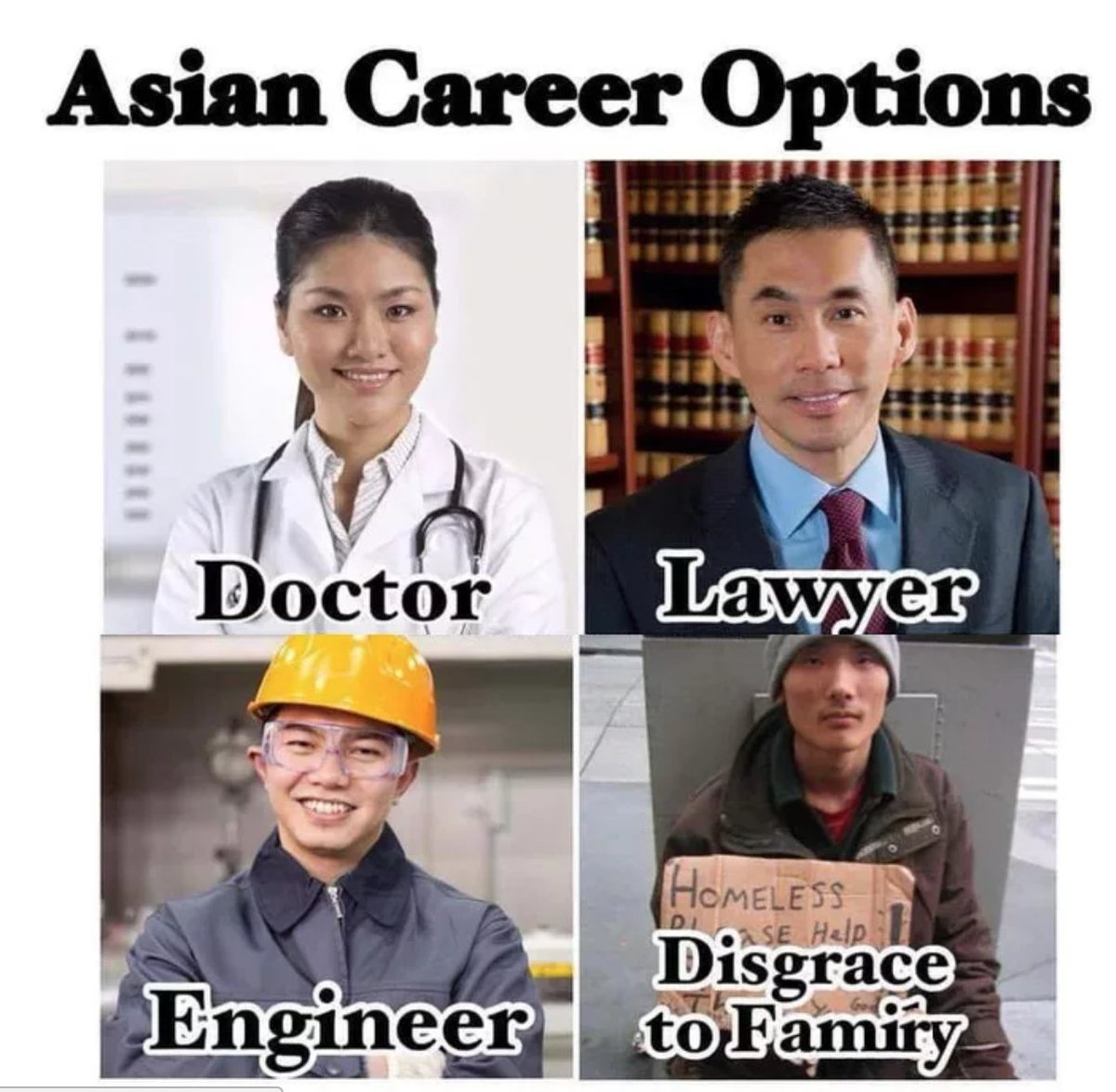 Image result for asian career meme